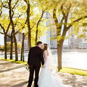 Chicago Olive Park Wedding Photos