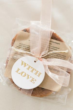 Cookie Wedding Favors