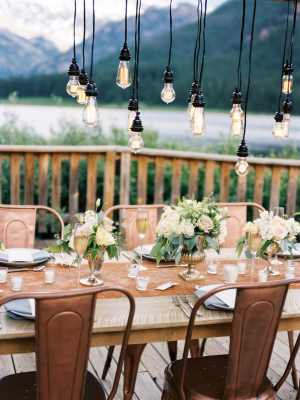 Copper and Green Wedding Colors