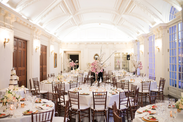 Daughters of the American Revolution Wedding Reception