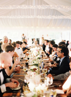 Elegant Dinner Party Wedding