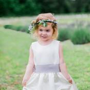 Flower Girl in Watters Dress