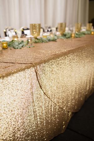 Gold Sparkle Linen1
