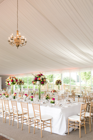 Gold and Colorful Reception