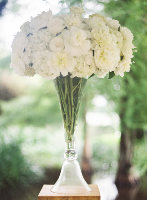 Hydrangea and Peony Wedding Flowers
