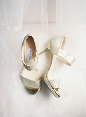 Jimmy Choo Silver Heels
