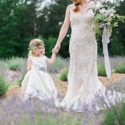 Lavender Farm Wedding Ideas