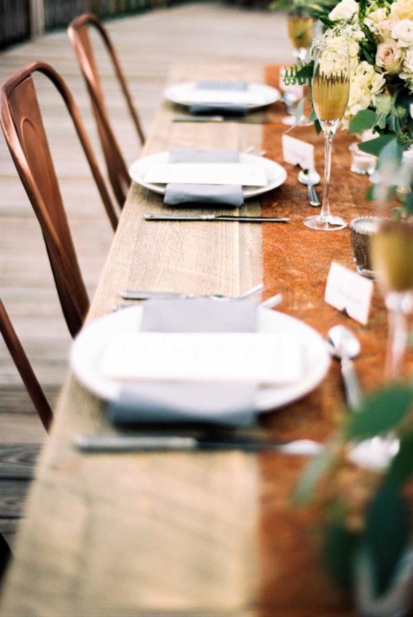 Metallic Wedding Chairs