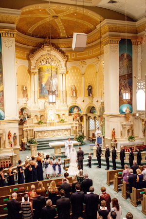 Milwaukee Cathedral Wedding