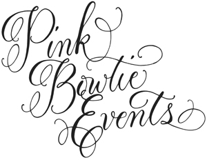 Pink Bowtie Events Logo