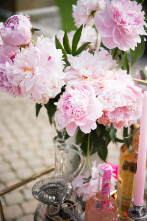 Pink Peony Wedding Decor