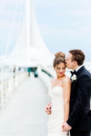 Reiman Bridge Wedding Photo