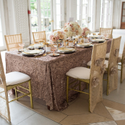 Rose Gold and Gold Wedding Table