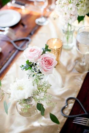 Roses in Bud Vase