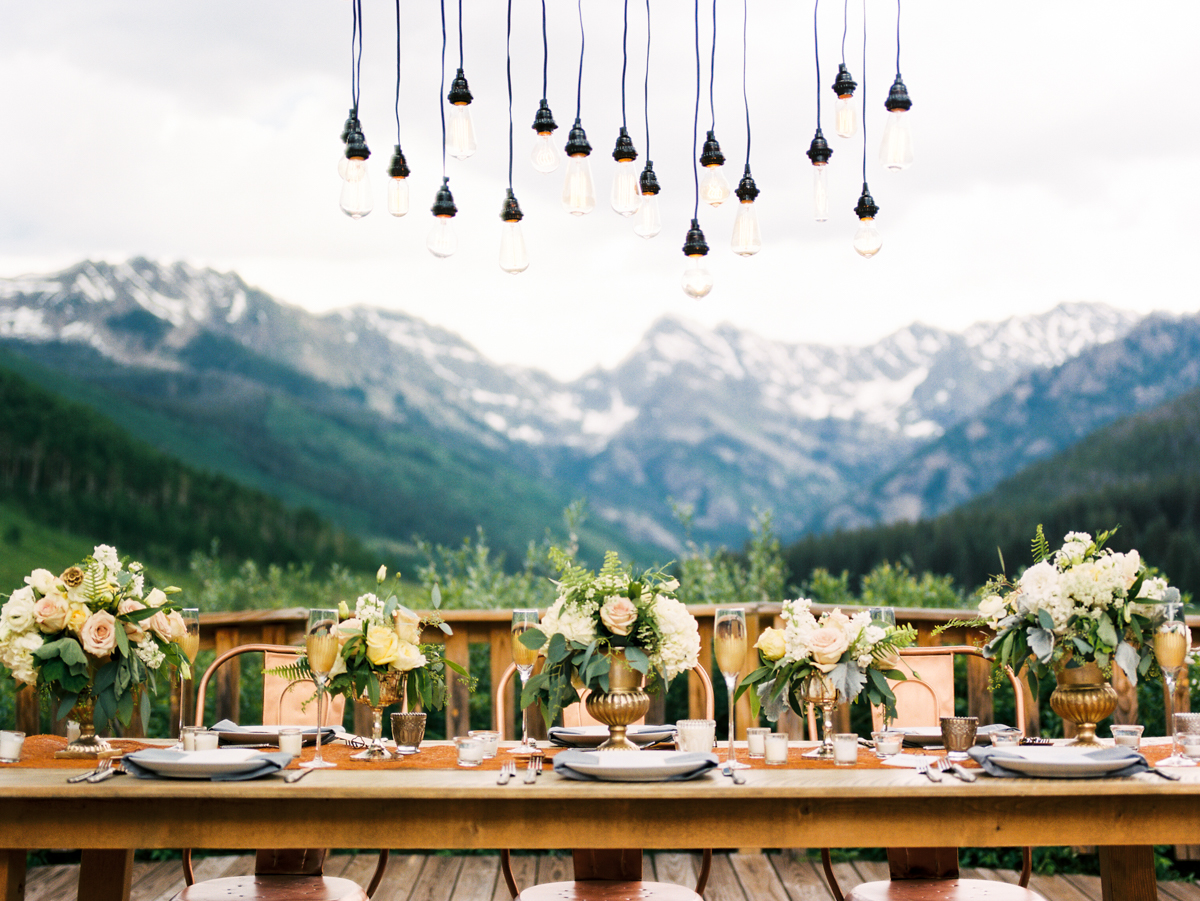 Rustic Modern Mountain Wedding Ideas