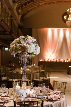 Tall Topary Style Centerpiece