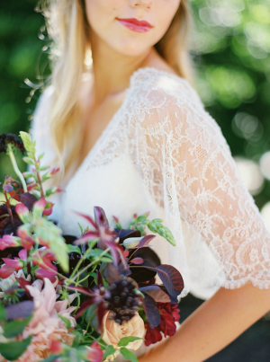 Auburgine Bouquet