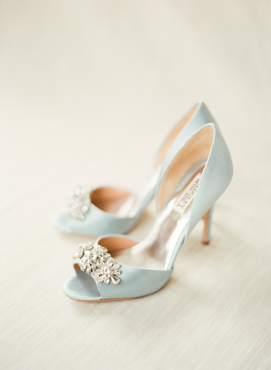 Badgley Mischka Tiffany Blue Shoes