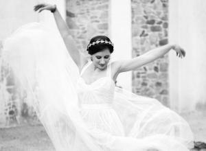 Ballet Inspired Bride