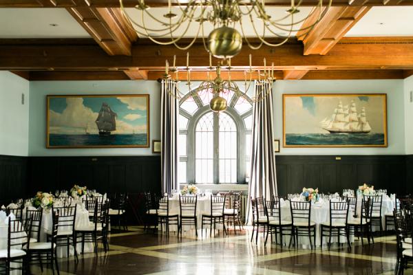 Ballroom Wedding at Private Club