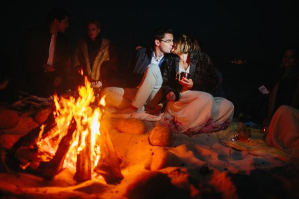 Beach Party Campfire