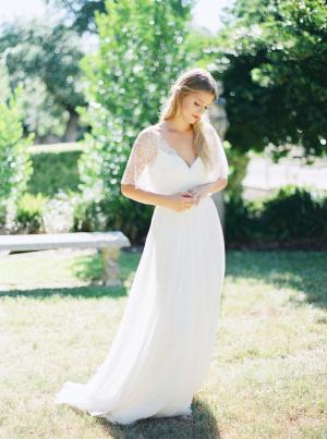 Bride in Divine Atelier Dress