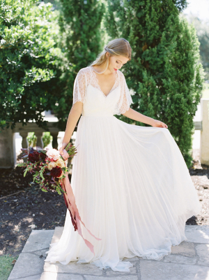 Bride in Divine Atelier Gown