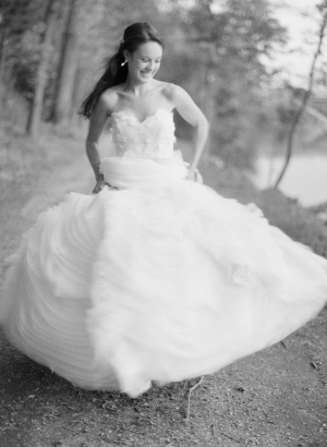 Bride in Lazaro