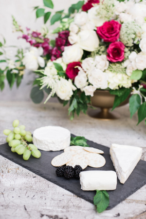 Cheese Display for Wedding
