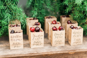 Cherry Bags Wedding Favors