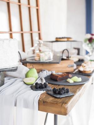 Elegant Dessert Table for Wedding
