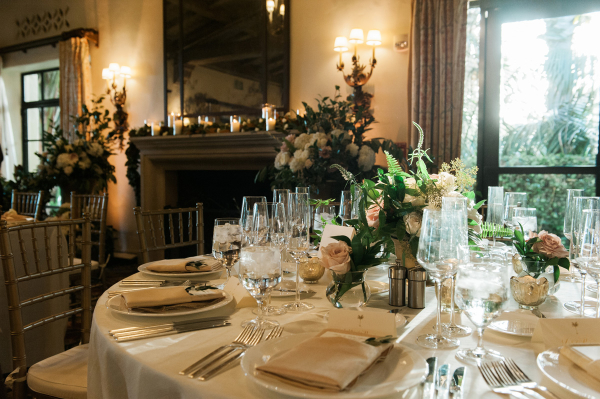 Elegant Green and Ivory Wedding