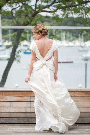 Elegant Harbor Wedding Inspiration 1