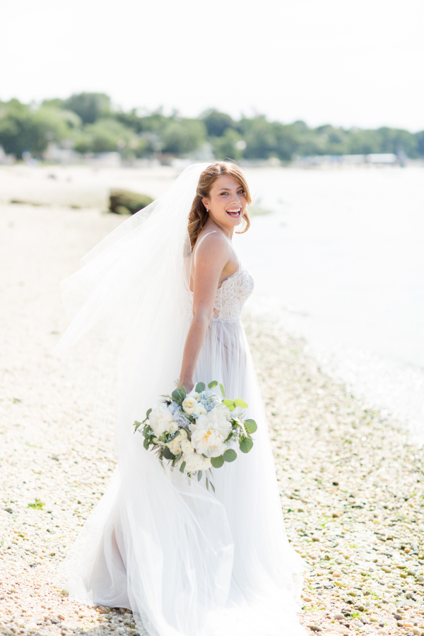 Elegant Harbor Wedding Inspiration 8