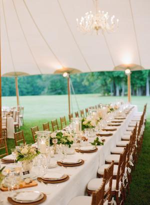 Elegant Tent Wedding
