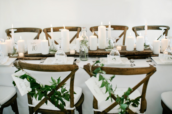 French Country Chairs with Garland