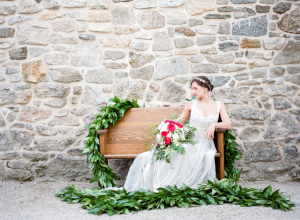 Fuchsia and Green Wedding Ideas