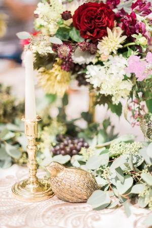 Garnet Wedding Flowers