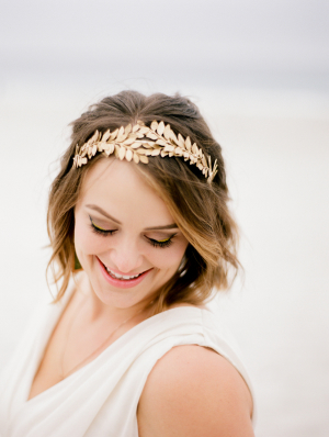 Gold Greece Style Headband
