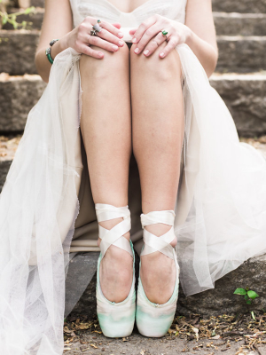 Handpainted Ballet Shoes