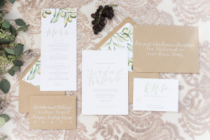 Kraft and Ivory Wedding Invitations