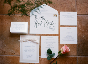 Large Calligraphy Invitations