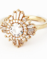 Mid Gatsby Ring