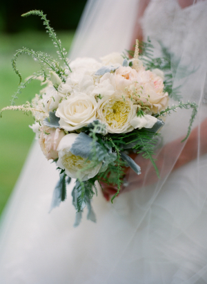 Pale Yellow and Pink Bouquet