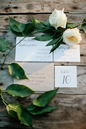 Rustic White and Wood Wedding Inspiration
