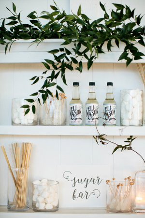 Sugar Soda Bar for Wedding