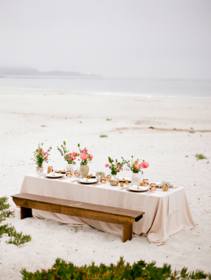 Tablescape on the Beach