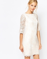 Ted Baker Laavia Wide Sleeve Dress in Lace