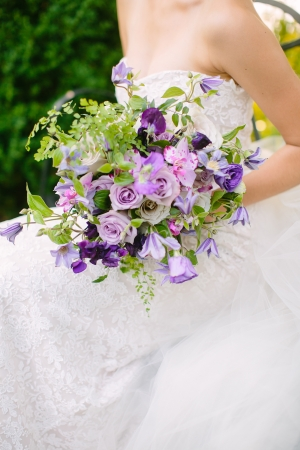 Violet and Purple Bouquet