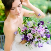 Violet and Purple Flowers